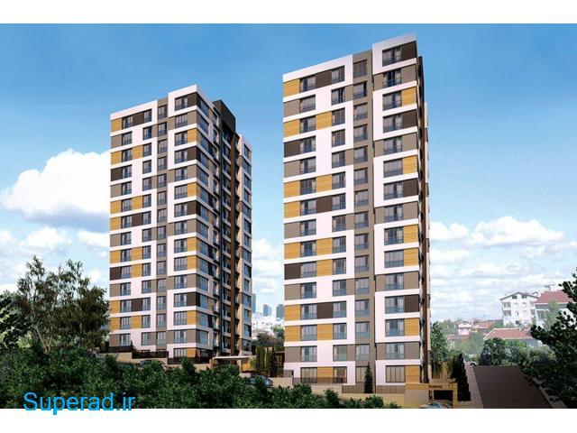 آپارتمانهای بسیار مدرن و با کیفیت در استانبول ترکیه