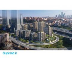 آپارتمان های شیک و لاکچری در مسلک استانبول