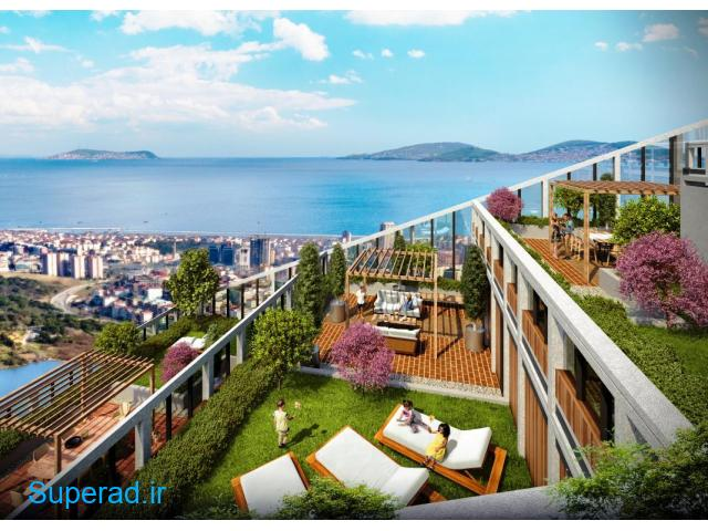 آپارتمان های دلپسند در مرکز شهر با همه امکانات در استانبول