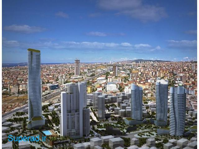 آپارتمان های لوکس در استانبول بخش آسیایی