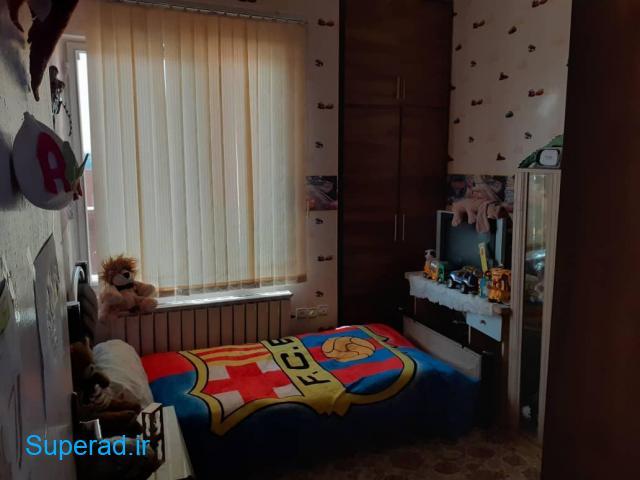 آپارتمان دوخوابه 75متری در الهیه