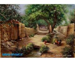 تبریز - فروش زمین با کاربری کشاورزی مساعد برای کارهاوطرحهای پرورشی ازجمله پرورش ماهی وگلخانه (فروش)